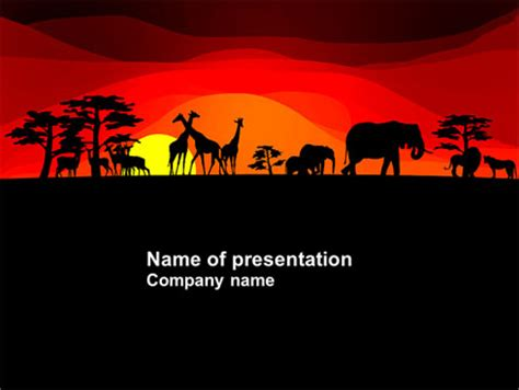 Africa Powerpoint Templates And Backgrounds For Your Presentations Download Now Africa Powerpoint Template
