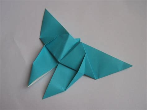 Traditional Origami Butterfly - butterfly yoshizawa happy folding
