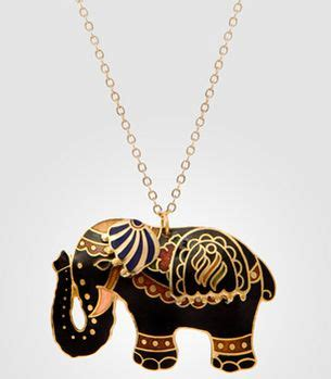 Umbrella Necklace From Fred Flare by 1000 Ideas About Elephant Necklace On