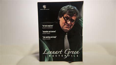 Lennart Green Master File 4 Dvd Set Dvd Magic Tutorial Sulap lennart green masterfile 4 dvd set by lennart green and