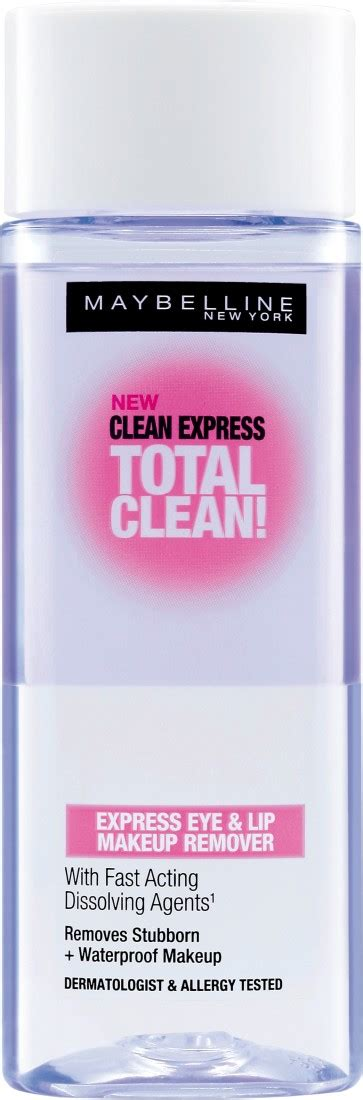 Maybelline Total Clean Remover maybelline clean express total clean makeup remover review