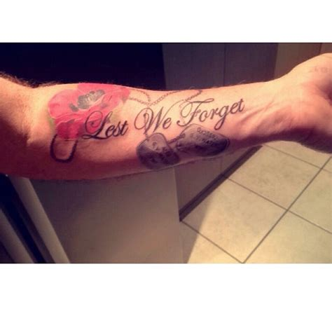 lest we forget tattoo lest we forget tats forget and