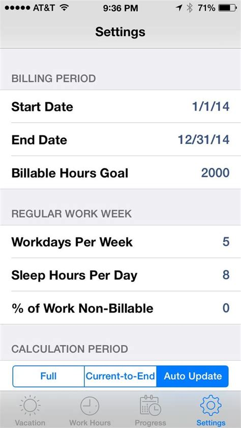 Iphone J D Review Billableplan Calculate Your Billable Hour Goals On The Iphone Iphone J D
