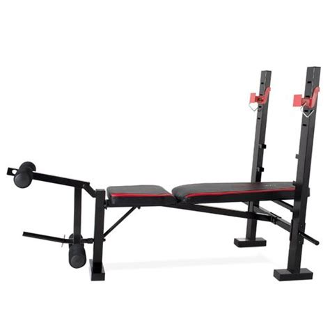 leg developer bench cap strength olympic bench with preacher pad and leg