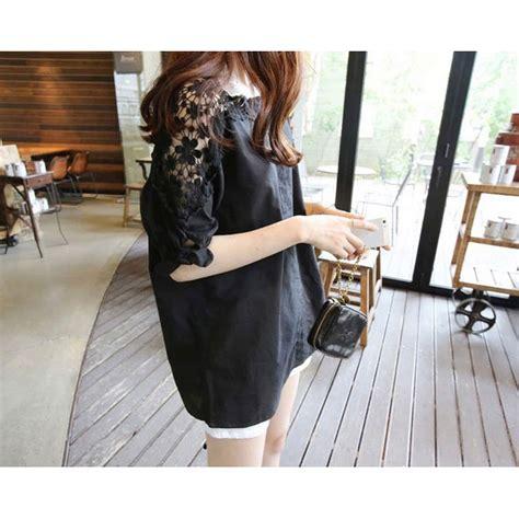 Blouse Fashion Wanita 44 blouse wanita korean style size l black jakartanotebook