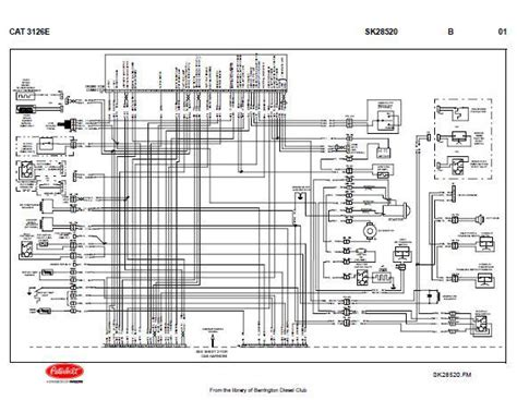 caterpillar 3208 engine wiring diagram caterpillar engine