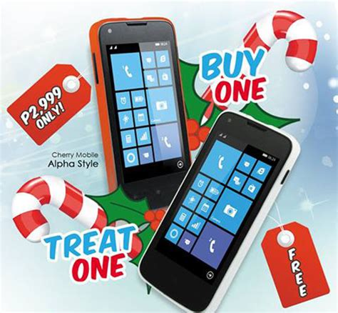 Sale Alert Bevmos Buy One Get One For 5 Sale by Cherry Mobile Alpha Style Buy One Take One Deal Tomorrow