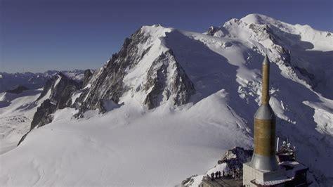aiguille du midi massif du mont blanc chamonix dronestagram