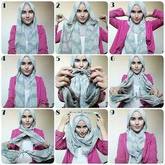 tutorial hijab pashmina tanpa inner ninja 1000 images about hijab styles for ladies only on
