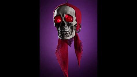 imagenes de calaveras piratas calavera pirata colgante con ojos de led youtube