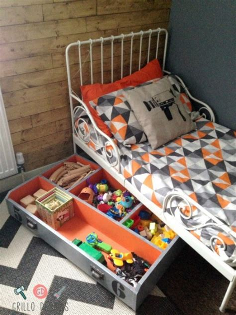cool diy toy storage ideas shelterness