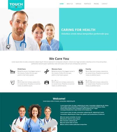 bootstrap templates for hospital webthemez hospital medical bootstrap html5 template