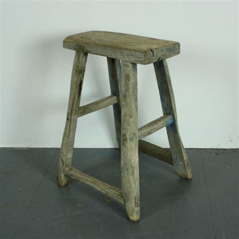 rustic wooden stool l144 lovely and company