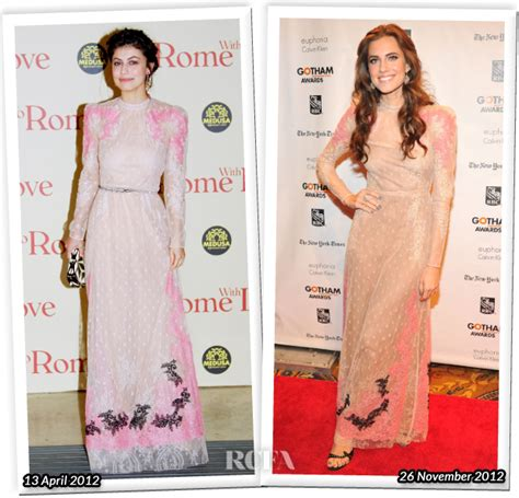 Who Wore Better Carpet Style Awards 2 by Who Wore Valentino Better Alessandra Mastronardi Or