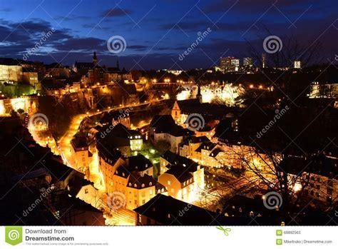 Lu City Z luxembourg city royalty free stock photo