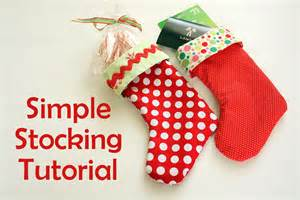 Today i m sharing a super easy method for making lined stockings