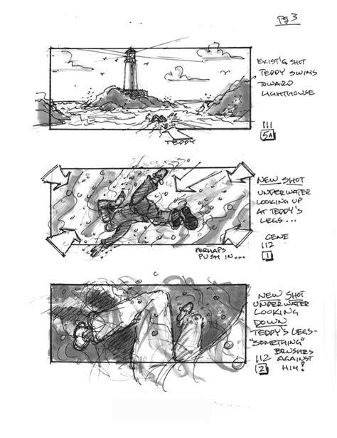 Storyboards from Martin Scorsese's 'Shutter Island