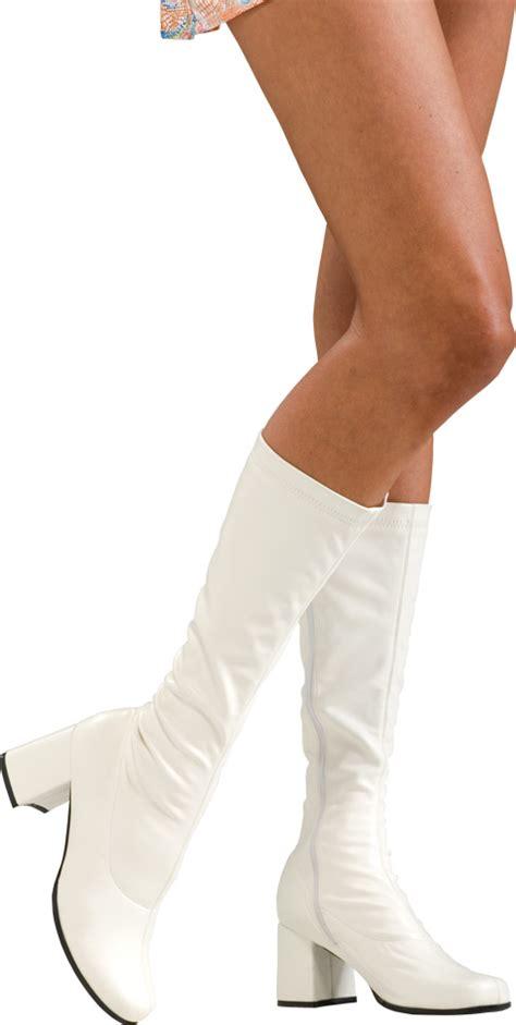 white go go boots island costume sixties seventies 60s 70s disco hippie