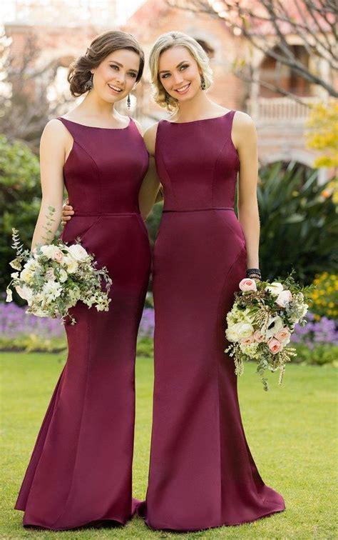 wine color dress best 25 wine bridesmaid dresses ideas on wine