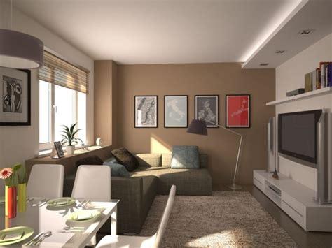 Wohnung Farblich Gestalten by Kleines Wohnzimmer Mit Essbereich Modern Einrichten Beige