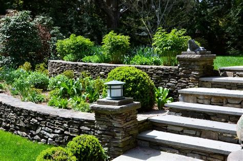 Landscape Supply York Pa Fieldstone Garden Walls Traditional Landscape New