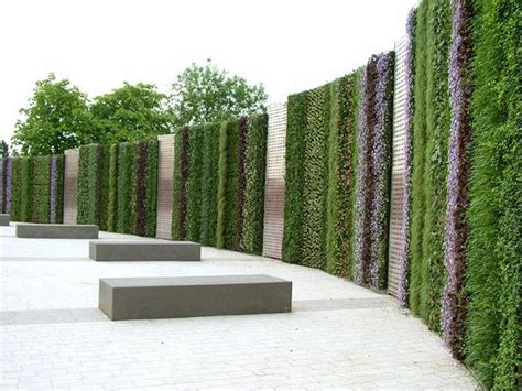 verical gardens  green walls artificial grass