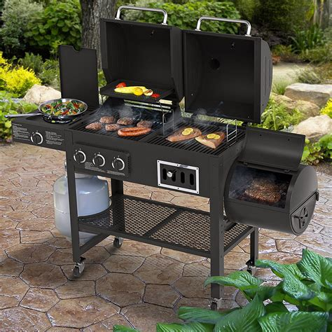 Smoker And Grill by Top 3 Gas Charcoal Smoker Combo Grills Of 2018 Jen S