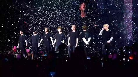 bts wings tour 170329 bts the wings tour in chicago ending last moment