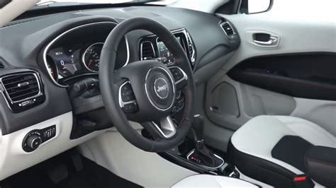 jeep compass limited interior 2017 jeep compass limited 4x4 driving exterior and