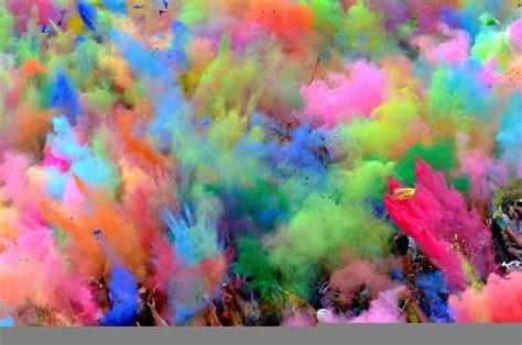 color image online holi le festival des couleurs inde photo 03 photomonde