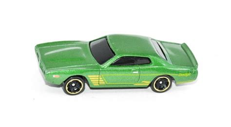 Hotwheels Wheels 74 Dodge Charger Hijau wheels 74 dodge charger cars