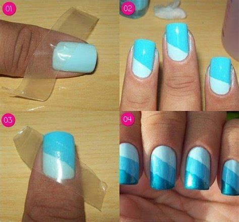 how to do nail manicure makeup step by step diy