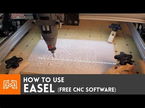 easel  cnc software youtube