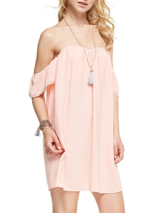 Shoo And Shoulders jealous tomato shoulder dress from pennsylvania by