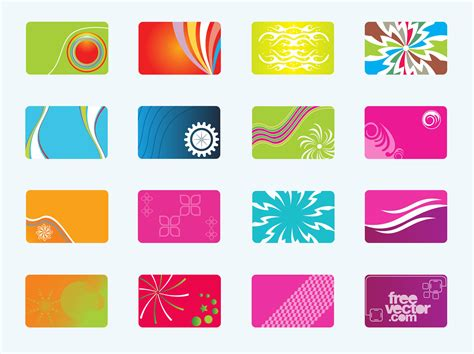 card vector template free business cards free vectors ui
