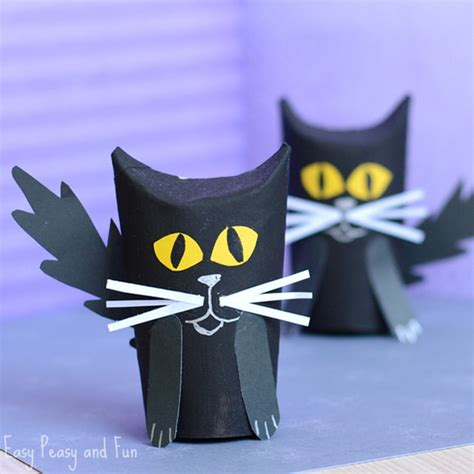 black craft paper roll paper roll black cat craft easy peasy and