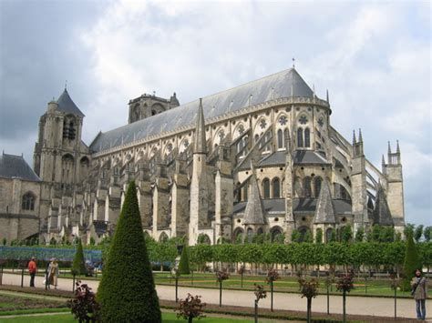 Gothic Interior Design bourges cathedral historical facts and pictures the
