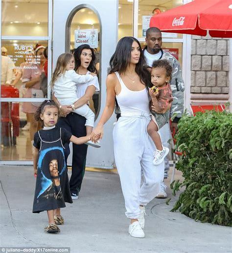kim kardashian north west birthday party kim kardashian braless for daughter north s 4th birthday
