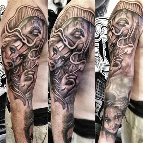 tattoo chicano pinterest chicano tattoo sleeve tattoos pinterest chicano
