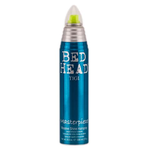 bed head masterpiece tigi bed head masterpiece massive shine hairspray 9 5 oz
