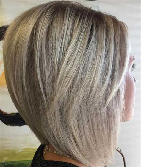 med length bob graduated layers graduated bob hairstyles are the latest trend crazyforus