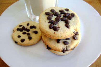 casa di cioccolato cookies con gocce di cioccolato dolci