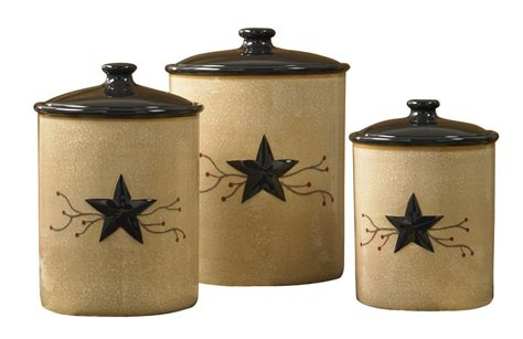 country kitchen canister sets gift for country