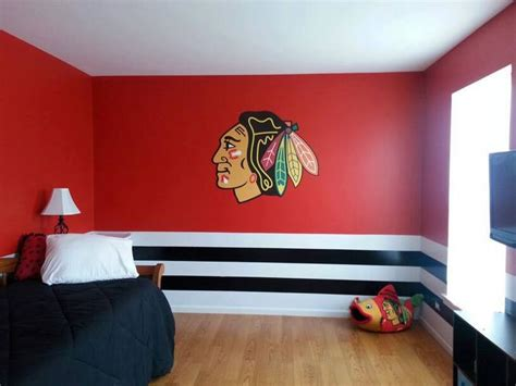 chicago blackhawks bedroom decor 73 best images about hockey ideas on pinterest detroit
