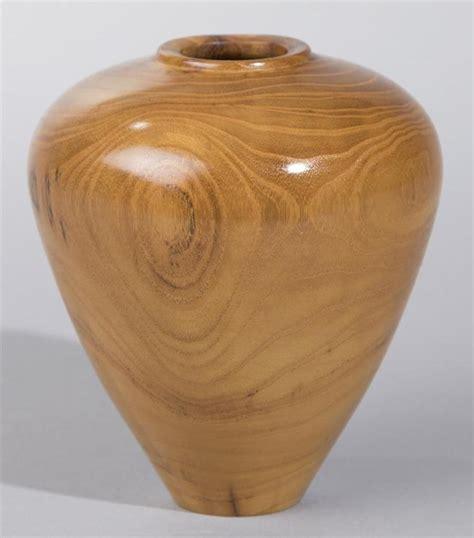 Turned Wood L by Turned Wood Vase