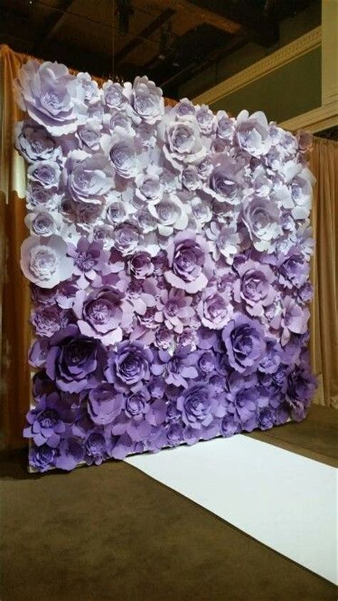 How To Make Paper Flowers For Wall - 1000 ideas about paper flower backdrop on