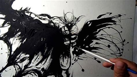 painting batman batman speed painting be kant