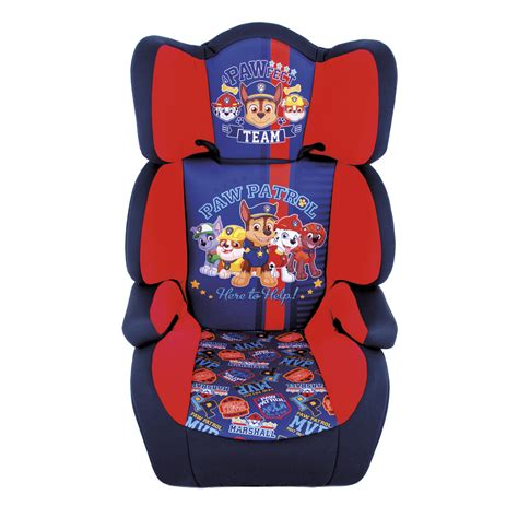 character booster seats uk paw patrol high back booster car seat
