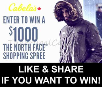 North Face Gift Card - free 1 000 north face gift card being given away frugal canadians