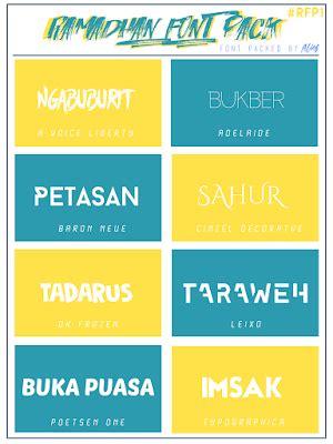 design font pack rar ramadhan font pack 01 pass protect kuroi design